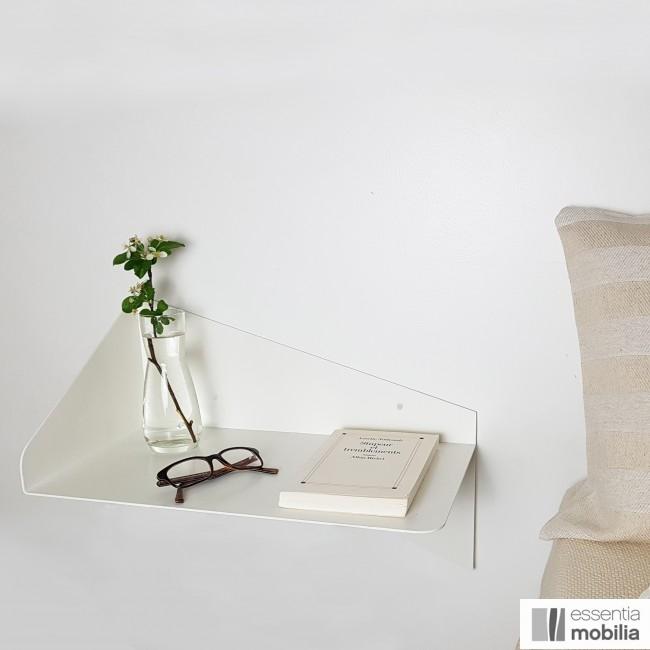 Table de chevet murale en métal - Orientation vers la droite - Envol - Sur la photo : Taille L