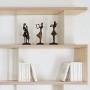 Bibliothèque bois et métal sur mesure - Swing