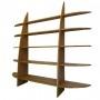 Bibliothèque en bois sur mesure - Petite Voile