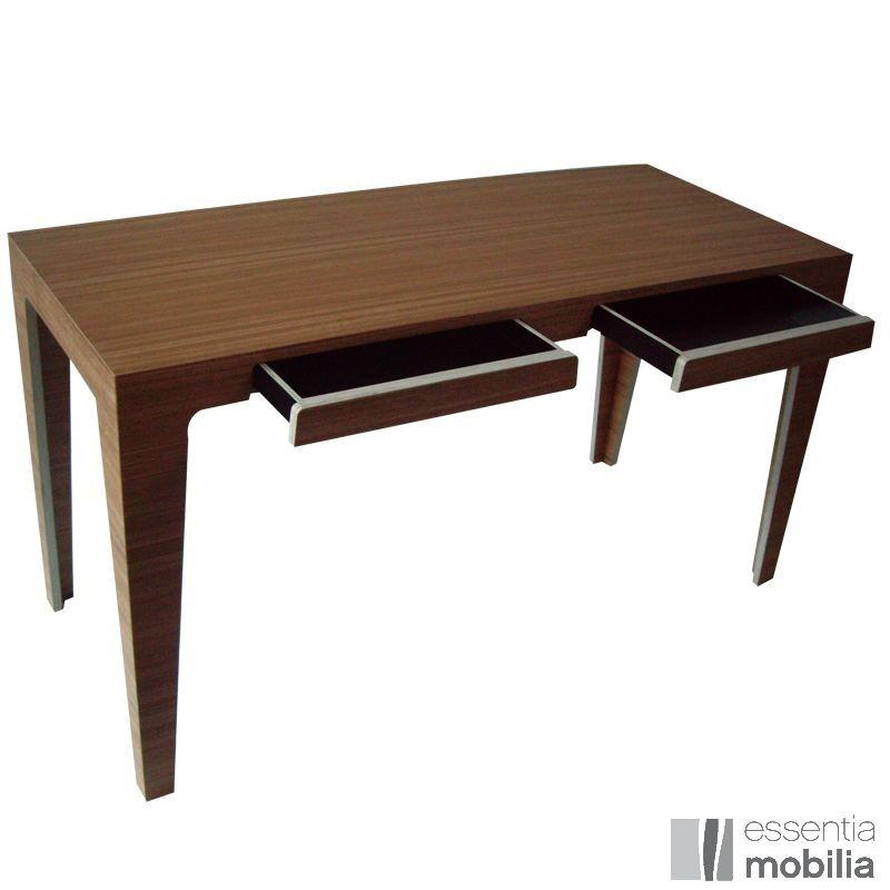 bureau haut de gamme bois massif trois pieds essentia mobilia. Black Bedroom Furniture Sets. Home Design Ideas