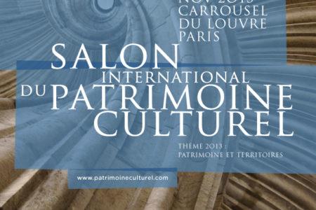Save the date : Salon International du Patrimoine Culturel à Paris